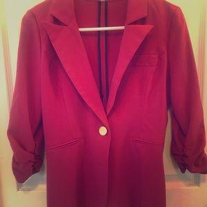 Womens pink blazer